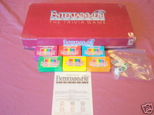 Entertainment Tonight The Trivia Game 1984