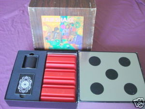 Fair Shake 1972 Leisure Life Dice & Card Game Complete