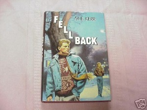 Fell Back by M.E. Kerr 1989 HCDJ First Edition