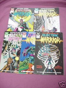 Five Electric Warrior 1980's DC Comics #14 thru #18
