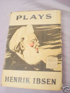 Four Plays by Herik Ibsen HC Circa 1930's