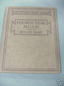 Fourth Year Music 1916 Music HC Hollis Dann