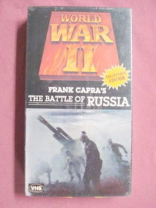 Frank Capra Battle of Russia World War II VHS