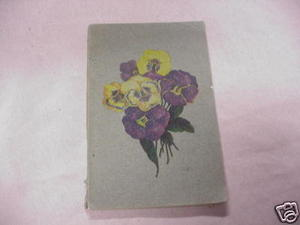 Gems No. 1 1901 Softcover Inspirational Poetry Book