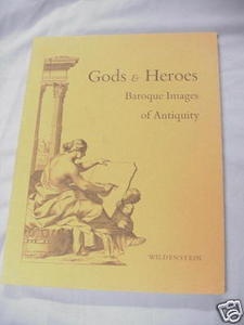 Gods & Heroes Antique Baroque Images Art Catalog 1968