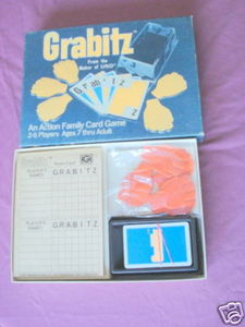 Grabitz 1979 International Games Complete Card Game