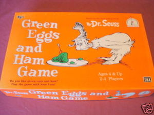 Green Eggs and Ham Game 1996 Dr. Seuss Complete