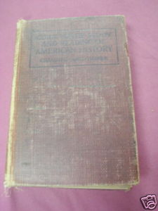 Guide To The Study of American History 1912 HC