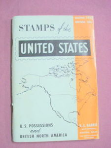 H. E. Harris & Co. Stamps of the United States 1957