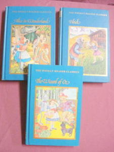 Heidi, Wizard of Oz, Alice In Wonderland 1983 HCs