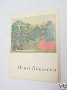 Henri Rousseau 1942 Art SC Daniel Catton Rich