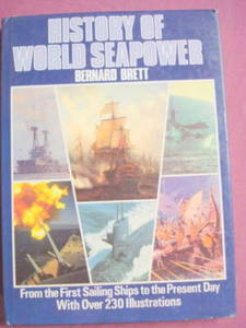History of World Seapower Bernard Brett 1985 HC