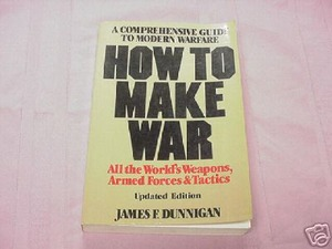 How To Make War 1983 Softcover James F. Dunnigan