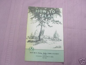 How To Plant 1965 Farm & Nursery SC Winchester, Mass.