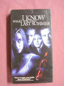 I Know What You Did Last Summer VHS Sarah Gellar
