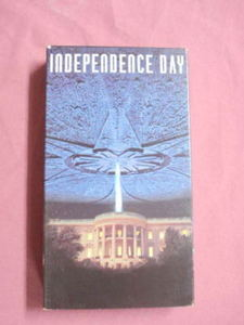 Independence Day VHS Will Smith Jeff Goldblum