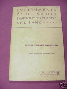 Instruments of the Modern Symphony Orchestra 1948 SC