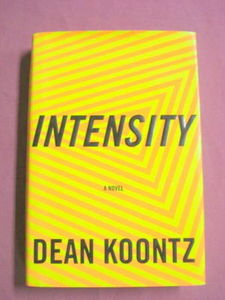 Intensity 1996 Dean Koontz Murder HCDJ 1st Trade Edition