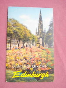 J. Arthur Dixon Edinburgh Pictorial Guide 1960's
