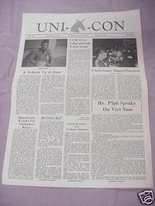 January 12, 1966 Unicon Newspaper UCONN Hartford Branch