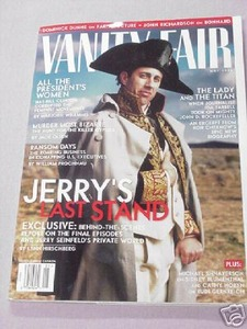 Jerry Seinfeld Last Episodes Vanity Fair May, 1988
