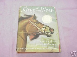 King of the Wind 1962 Arabian Horse HC Margerite Henry