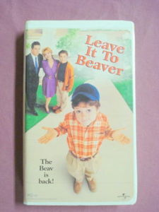 Leave It To Beaver 1998 VHS Movie Cameron Finley