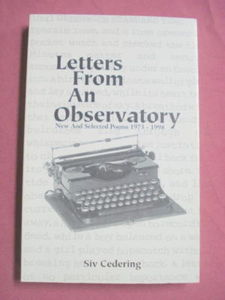 Letters From An Observatory Poems 1973-98 Siv Cedering