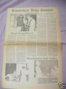 March 9, 1967 Connecticut Daily Campus Newspaper UCONN