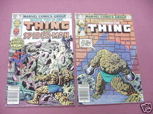 Marvel Two-In-One Comics Starring The Thing #90, #91