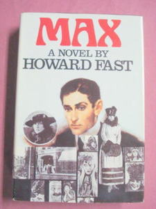 Max By Howard Fast 1982 Hardcover