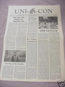 May 18, 1966 Unicon Newspaper UCONN Hartford Branch