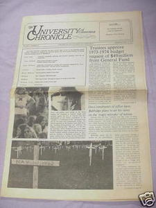 May 18, 1972 University of Connecticut Chronicle UCONN