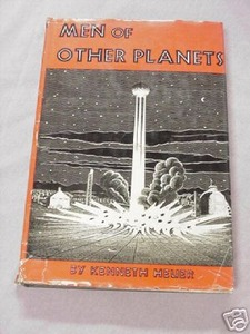Men of Other Planets 1951 Kenneth Heuer HC Outer Space