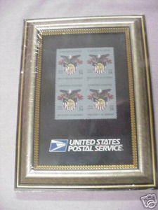 Military Academy 2002 Set of 4 U.S. Mint Stamps Framed