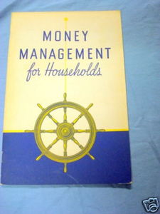 Money Management For Households 1938 Household Finance