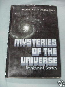 Mysteries of the Universe Franklyn M. Branley 1984 HC
