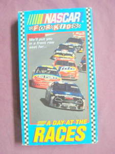 NASCAR For Kids-A Day At The Races VHS 1995
