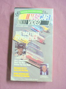 NASCAR VHS The Daytona Experience Petty, Earnhardt