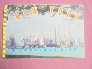 New York A Fabulous City 1955 New York City Brochure