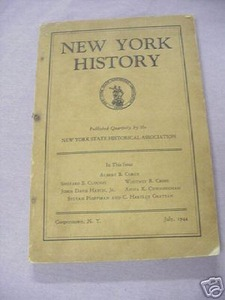 New York History History Journal July, 1944