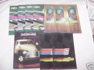 Nine 1990's Ertl Diecast Catalogs Die-Cast