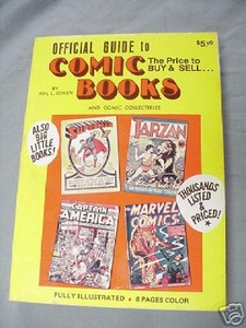 Official Guide to Comic Books 1974 by Hal L. Cohen
