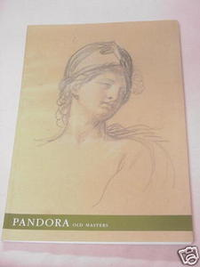 Pandora Old Master Drawings 2002 Art Exhibition Catalog