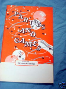 Parties and Games 1939 The Haskin Service booklet