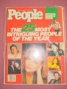 People Magazine 1/1/90 25 Most Intriguing People Issue