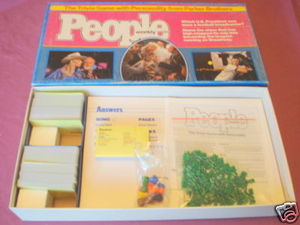People Weekly Trivia Game With Personality Complete