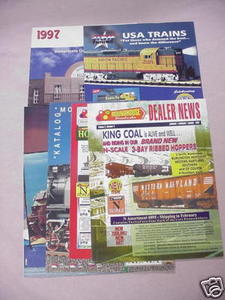 Piko 1997 G-Scale Model Buildings Catalogs + 5 Flyers