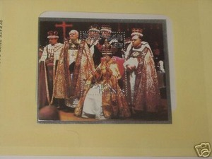 Pitcairn Islands Coronation Queen Elizabeth 1978 Stamp