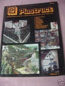 Plastruct 1989/1990 Volume V Catalog Model Railroading